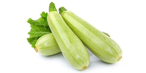 Courgettes Blanches
